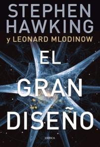 Portada libro 'El Gran Diseño', de Hawking